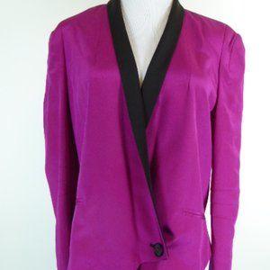 REBECCA MINKOFF SILK BECKY kimono style JACKET TOP